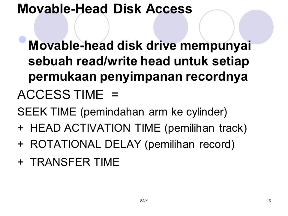 Movable-Head Disk Access