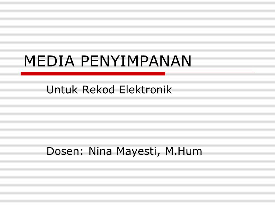 Untuk Rekod Elektronik Dosen: Nina Mayesti, M.Hum