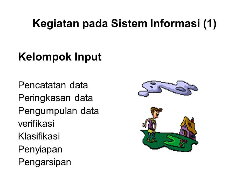 Kegiatan pada Sistem Informasi (1)