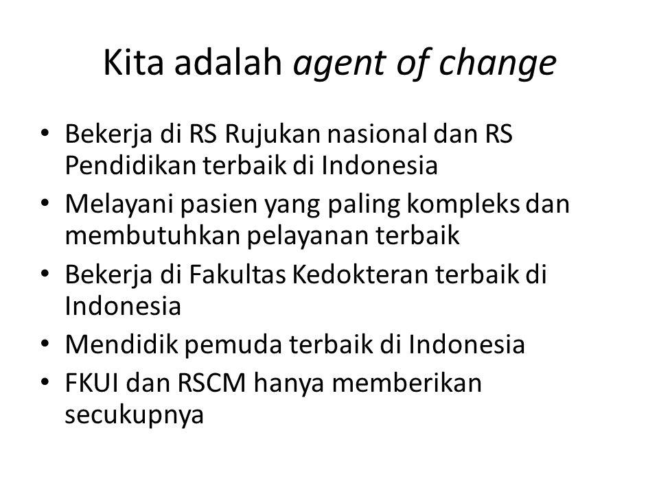 Kita adalah agent of change