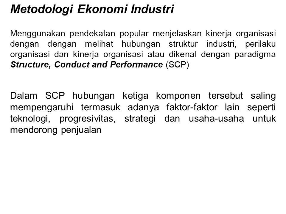 Metodologi Ekonomi Industri
