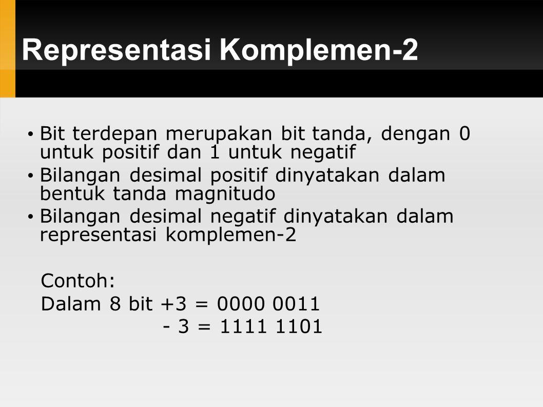 Representasi Komplemen-2