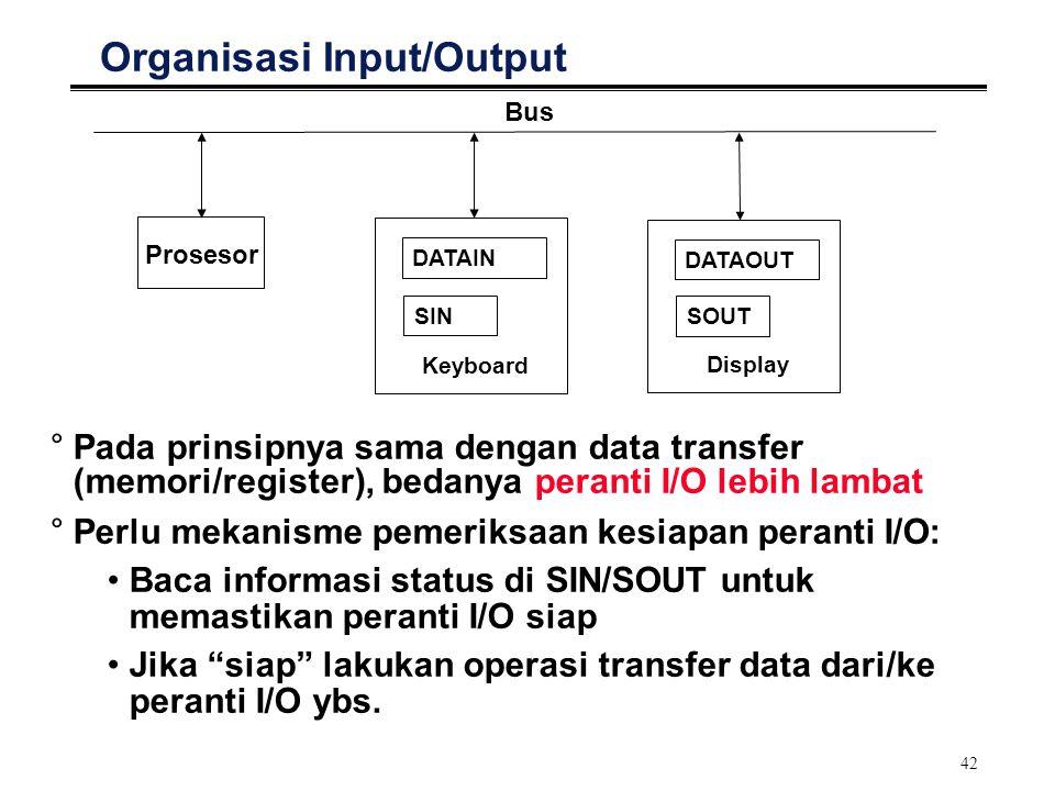 Organisasi Input/Output