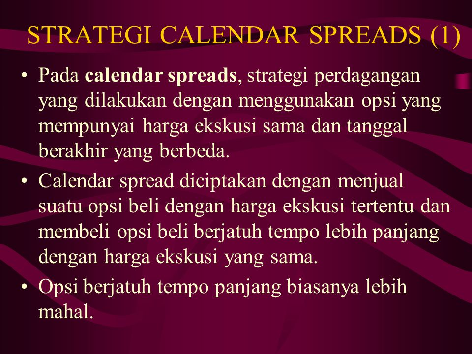 STRATEGI CALENDAR SPREADS (1)