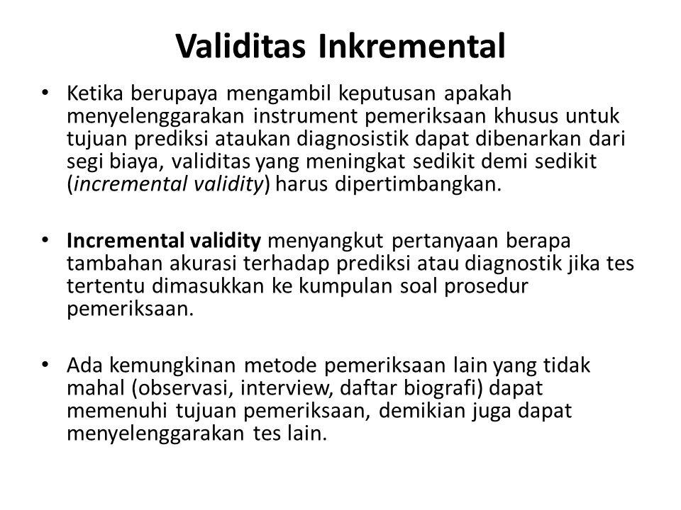 Validitas Inkremental