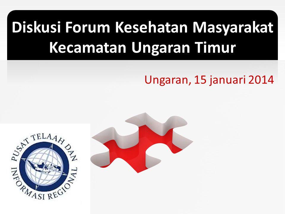 Diskusi Forum Kesehatan Masyarakat Kecamatan Ungaran Timur