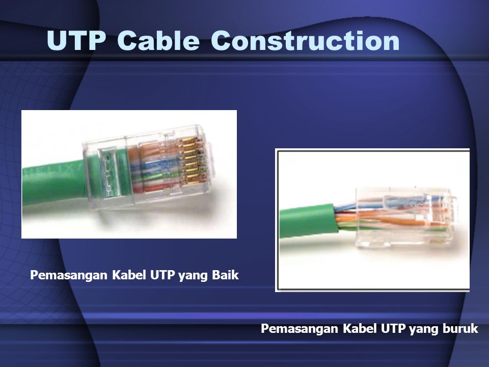 UTP Cable Construction