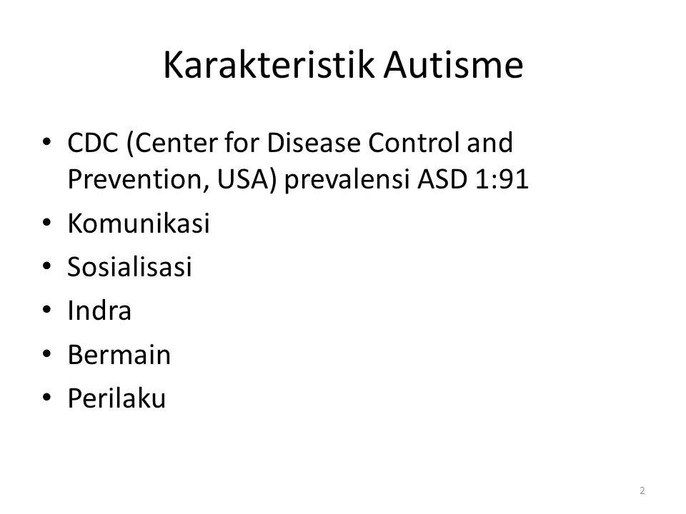 Karakteristik Autisme