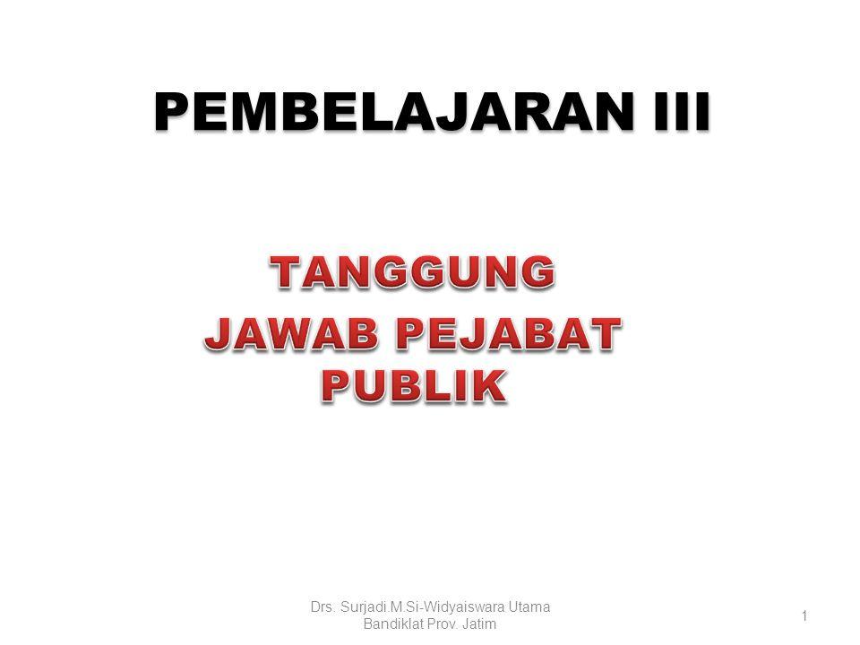 Drs. Surjadi.M.Si-Widyaiswara Utama Bandiklat Prov. Jatim