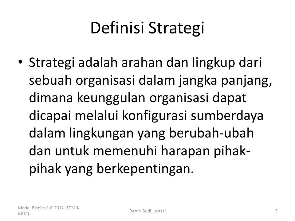 Definisi Strategi