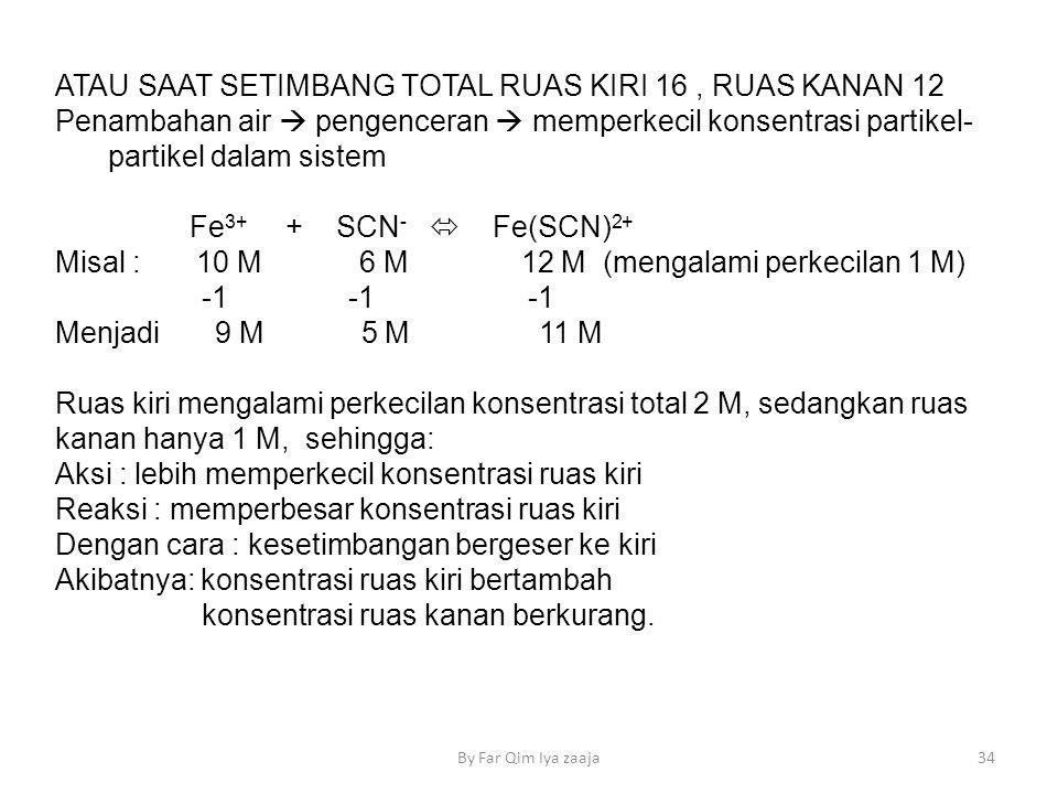 ATAU SAAT SETIMBANG TOTAL RUAS KIRI 16 , RUAS KANAN 12
