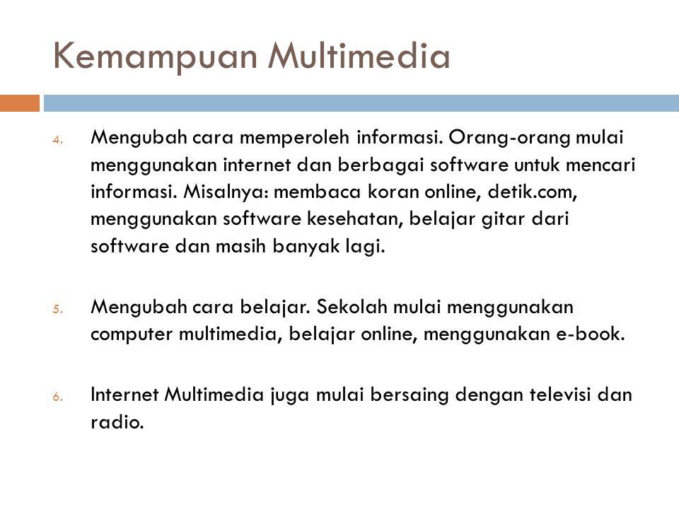 Kemampuan Multimedia