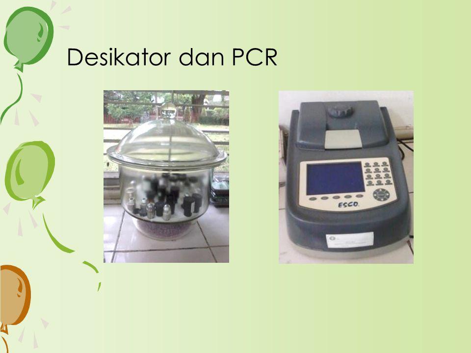 Desikator dan PCR