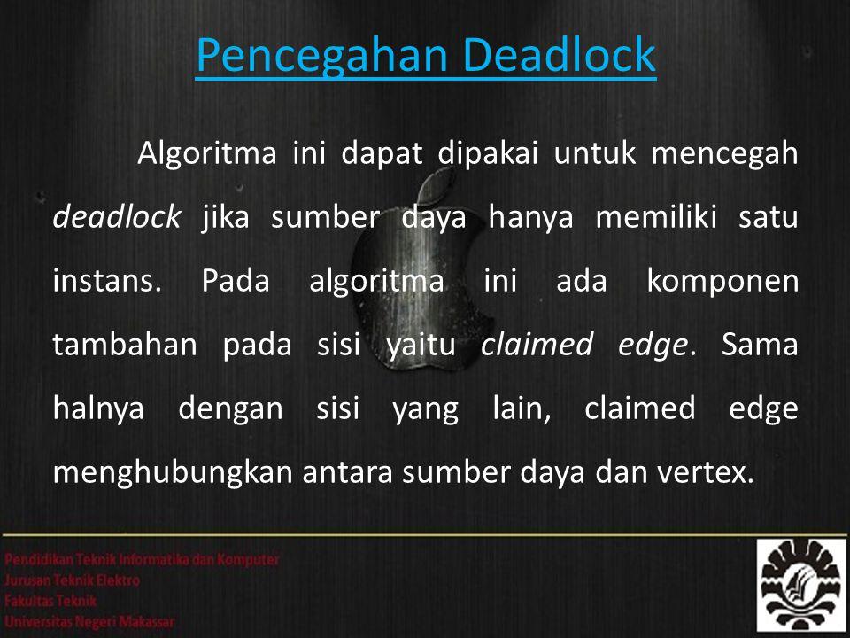 Pencegahan Deadlock