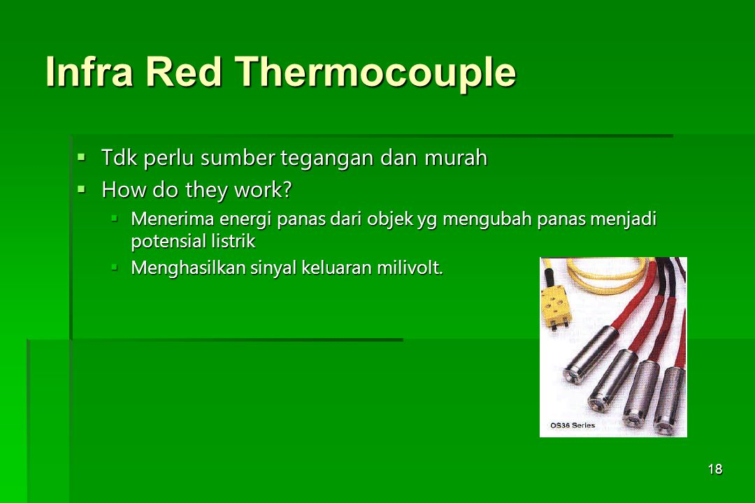 Infra Red Thermocouple