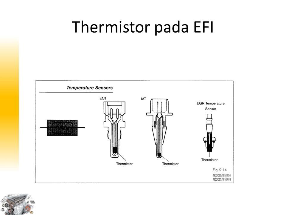 Thermistor pada EFI