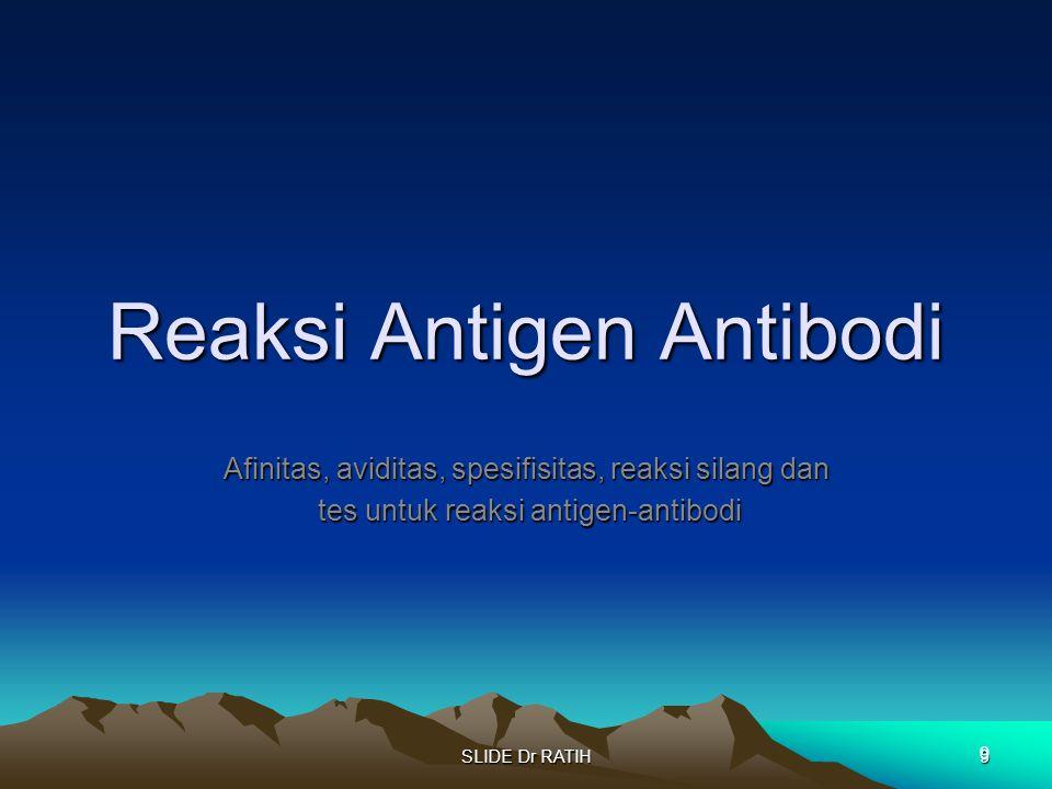 Reaksi Antigen Antibodi