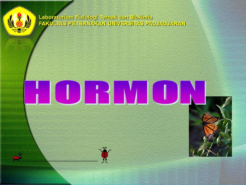 HORMON Laboratorium FisIologi Ternak dan BIokimia