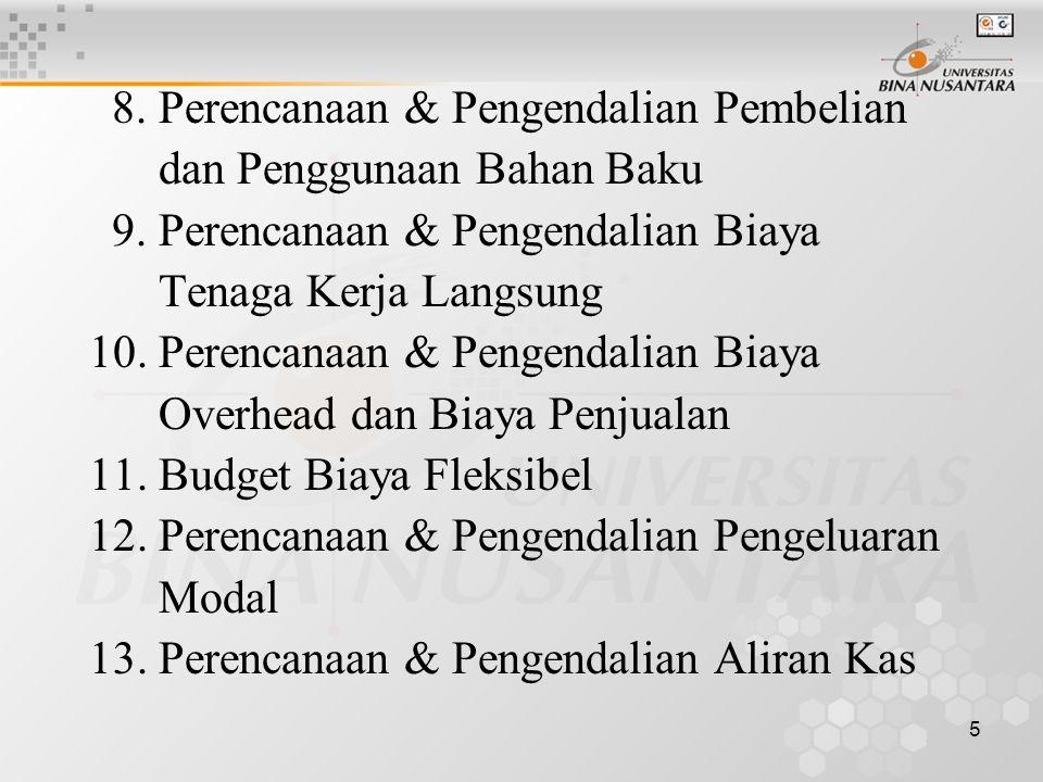 8. Perencanaan & Pengendalian Pembelian
