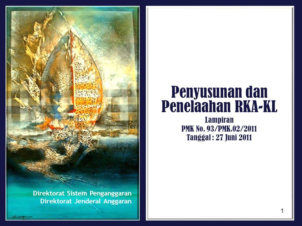 Penyusunan dan Penelaahan RKA-KL