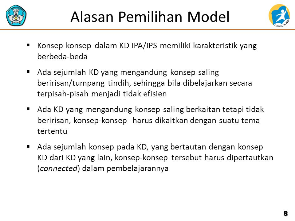 Alasan Pemilihan Model