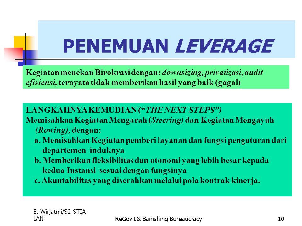 ReGov t & Banishing Bureaucracy
