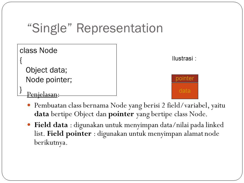 Single Representation