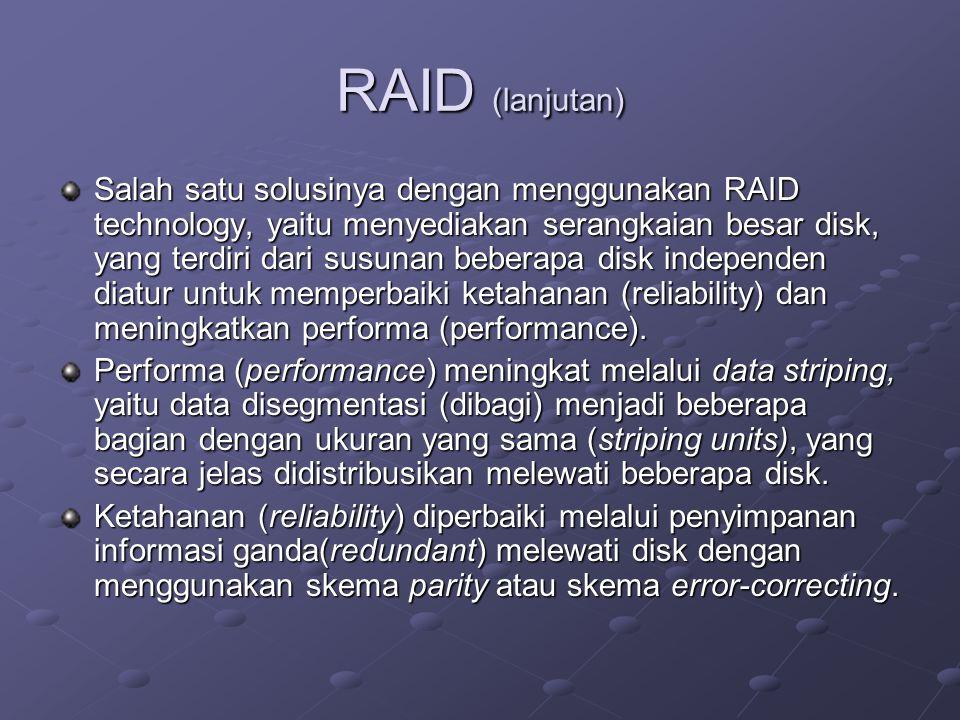 RAID (lanjutan)