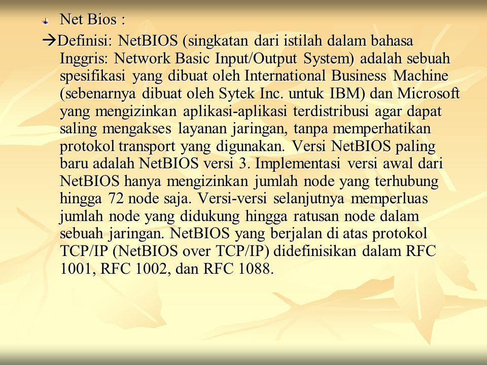 Net Bios :