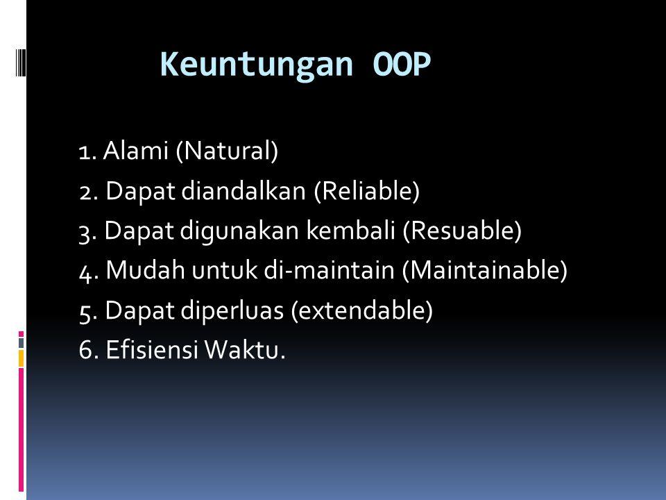 Keuntungan OOP