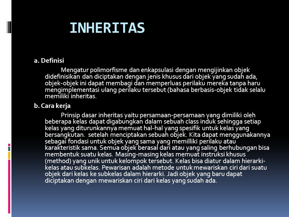 INHERITAS