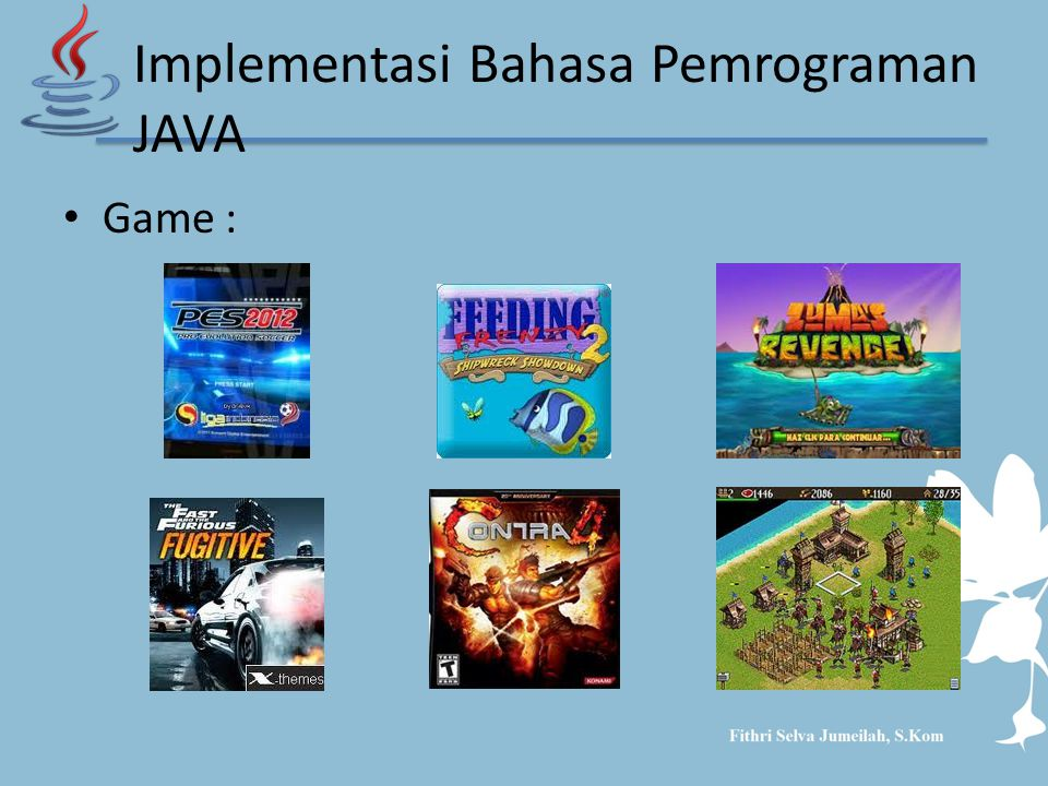 Implementasi Bahasa Pemrograman JAVA
