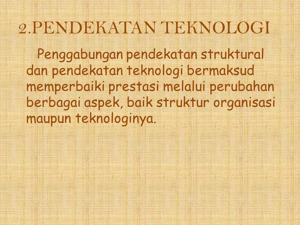 2.PENDEKATAN TEKNOLOGI