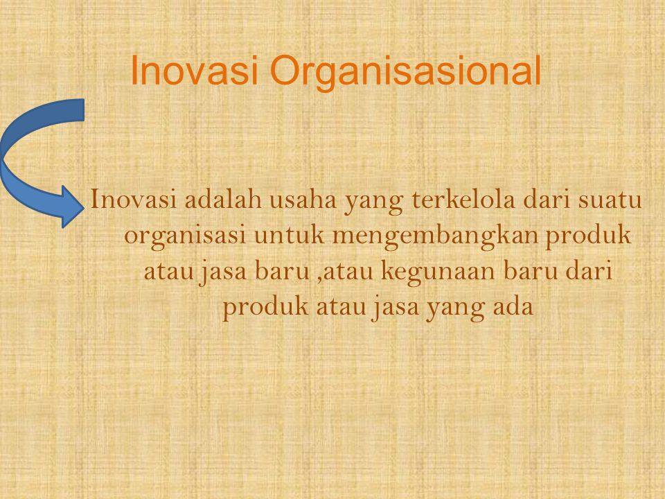 Inovasi Organisasional