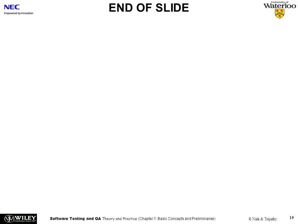 END OF SLIDE