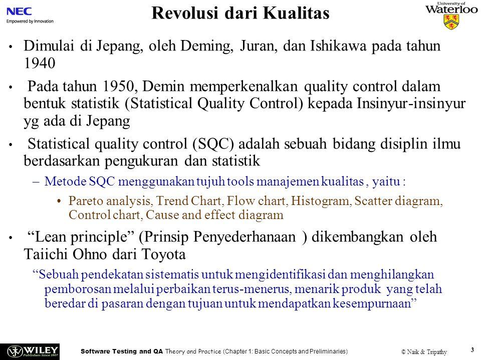 Revolusi dari Kualitas