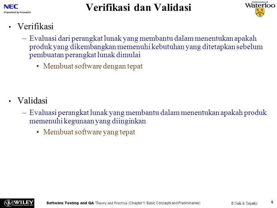Verifikasi dan Validasi