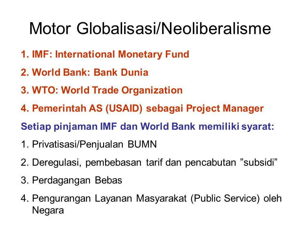 Motor Globalisasi/Neoliberalisme