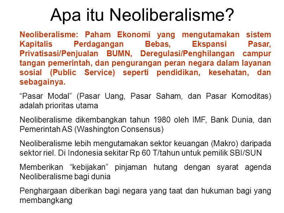 Apa itu Neoliberalisme