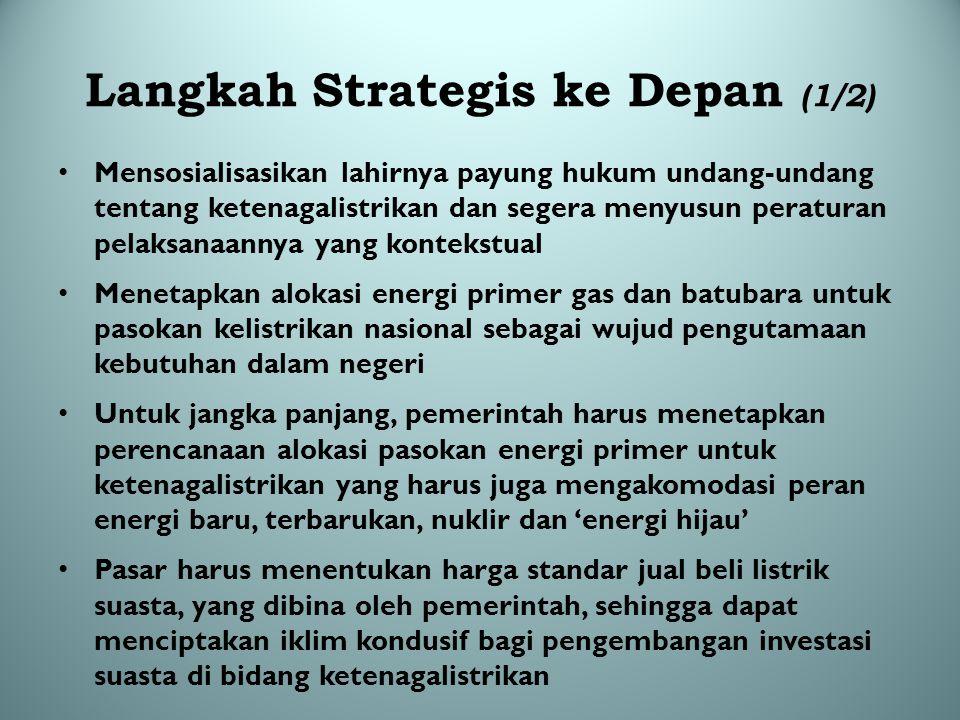 Langkah Strategis ke Depan (1/2)