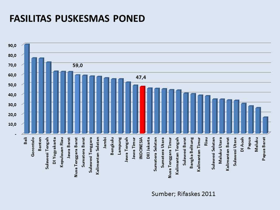 FASILITAS PUSKESMAS PONED