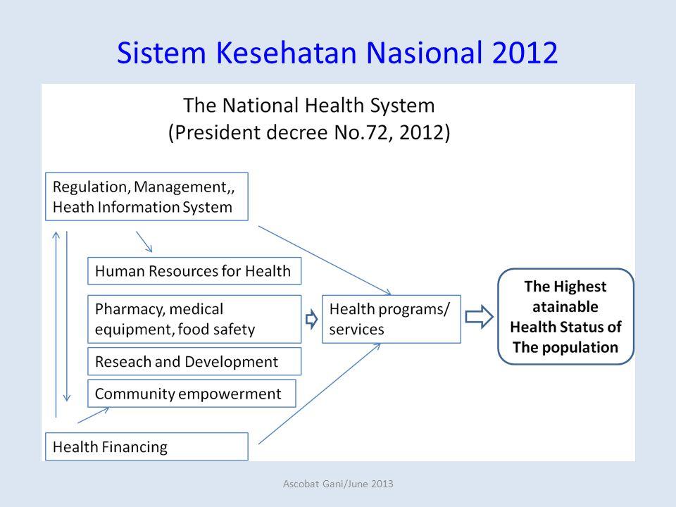 Sistem Kesehatan Nasional 2012