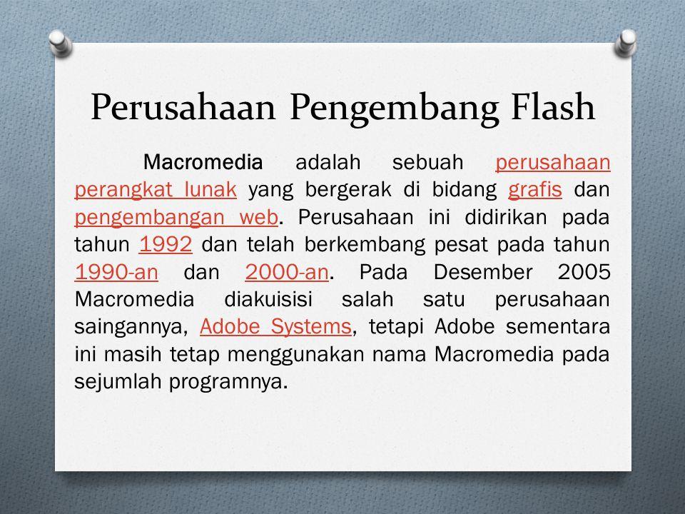 Perusahaan Pengembang Flash