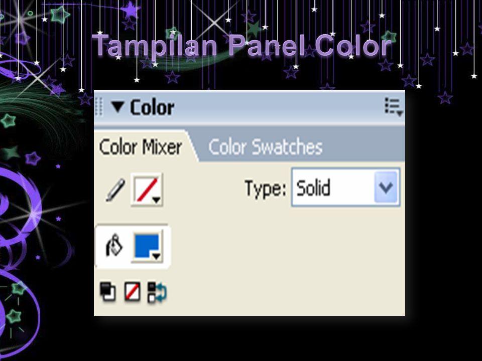 Tampilan Panel Color