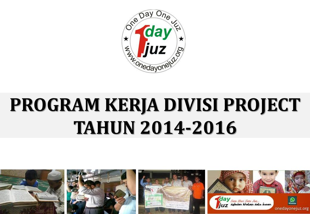 PROGRAM KERJA DIVISI PROJECT