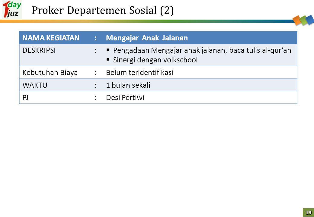 Proker Departemen Sosial (2)