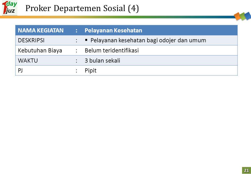 Proker Departemen Sosial (4)