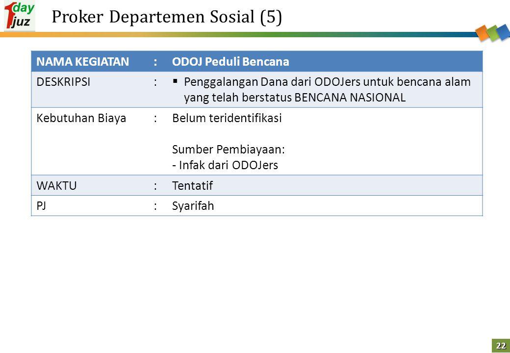 Proker Departemen Sosial (5)