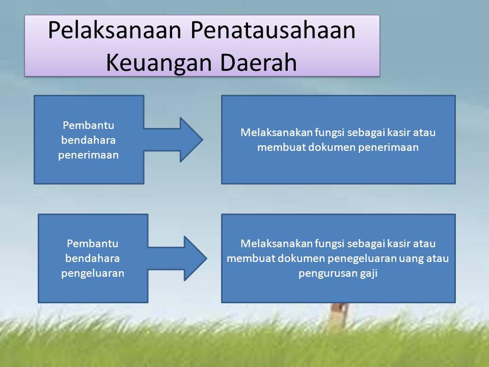 Pelaksanaan Penatausahaan Keuangan Daerah