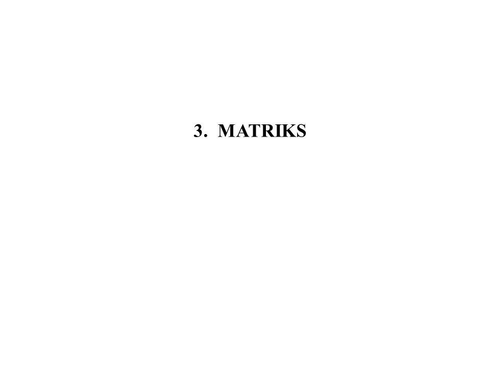 3. MATRIKS